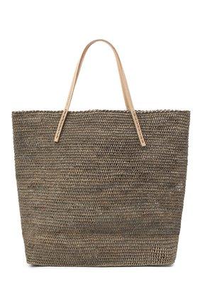Женская сумка beby large SANS-ARCIDET темно-бежевого цвета, арт. BEBY BAG MA-C S21/L   Фото 1