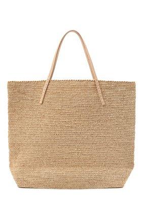 Женская сумка beby large SANS-ARCIDET бежевого цвета, арт. BEBY BAG MA-C S21/L   Фото 1
