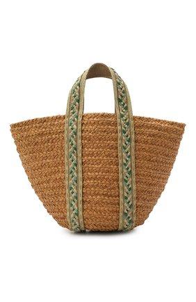 Женская сумка bondi medium SANS-ARCIDET бежевого цвета, арт. B0NDI BAG S21/M   Фото 1