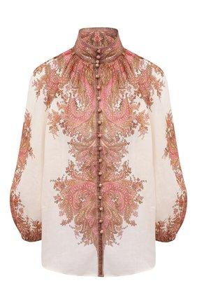 Женская блузка ZIMMERMANN бежевого цвета, арт. 9662TBRG | Фото 1