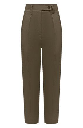 Женские брюки TELA темно-зеленого цвета, арт. 01 9971 14 8019 | Фото 1