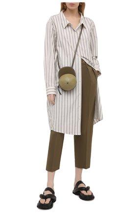 Женские брюки TELA темно-зеленого цвета, арт. 01 9971 14 8019 | Фото 2