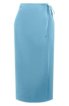 Женская льняная юбка TELA голубого цвета, арт. 01 0167 11 5266 | Фото 1