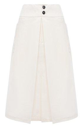 Женская хлопковая юбка TELA белого цвета, арт. 01 0157 11 0002 | Фото 1