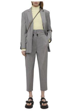 Женский шерстяной жакет TELA серого цвета, арт. 01 0159 06 0003 | Фото 2