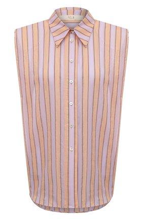 Женская хлопковая рубашка TELA оранжевого цвета, арт. 01 0149 02 0007 | Фото 1