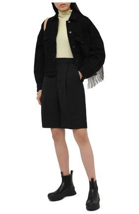 Женская джинсовая куртка J BRAND черного цвета, арт. JB003270 | Фото 2