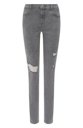 Женские джинсы J BRAND серого цвета, арт. JB003124/A | Фото 1