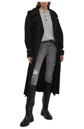 Женские джинсы J BRAND серого цвета, арт. JB003124/A | Фото 2
