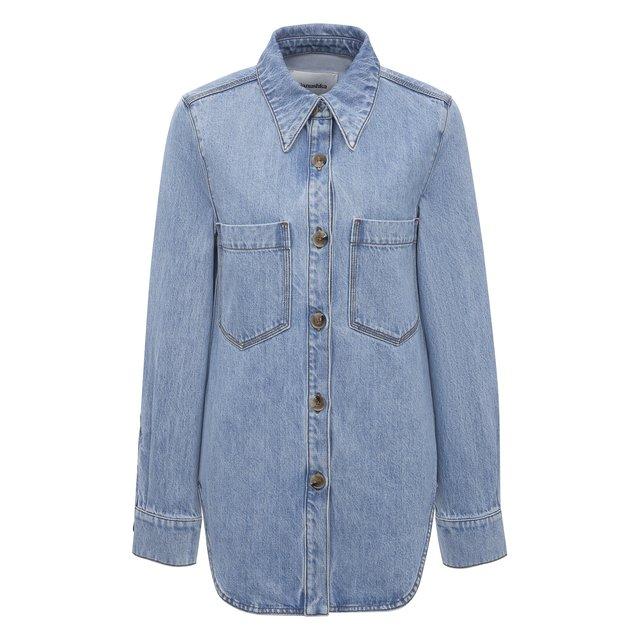 Джинсовая рубашка Nanushka