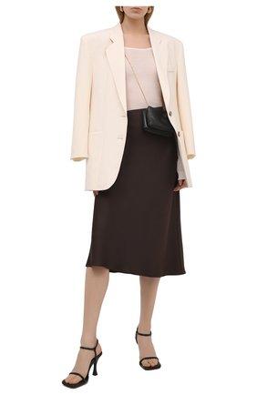 Женский шерстяной пуловер NANUSHKA бежевого цвета, арт. BETH_CREME_SUPER FINE MERIN0 KNIT   Фото 2