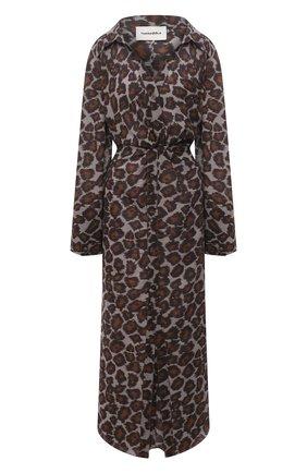 Женское хлопковое платье NANUSHKA леопардового цвета, арт. AYSE_CRAY0N 0CEL0T_C0TT0N V0ILE | Фото 1