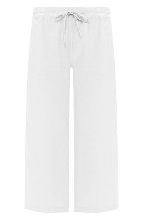 Женские льняные брюки 120% LINO белого цвета, арт. T0W2325/F753/000 | Фото 1