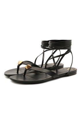 Кожаные сандалии Valentino Garavani Upstud | Фото №1