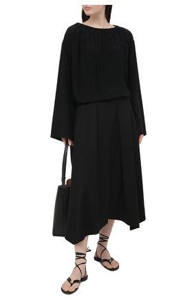 Женские кожаные сандалии valentino garavani upstud VALENTINO черного цвета, арт. VW2S0BJ7/GNF | Фото 2
