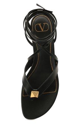 Женские кожаные сандалии valentino garavani upstud VALENTINO черного цвета, арт. VW2S0BJ7/GNF | Фото 5