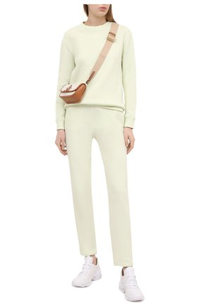 Женские кожаные кроссовки CASADEI белого цвета, арт. 2J902S0201SALEN9999 | Фото 2