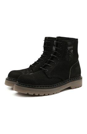Женские текстильные ботинки PREMIATA черного цвета, арт. M6002/NEW R0DI | Фото 1