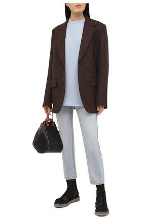 Женские текстильные ботинки PREMIATA черного цвета, арт. M6002/NEW R0DI | Фото 2