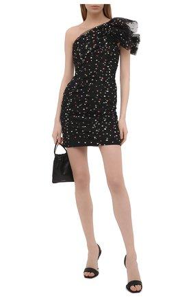 Женское платье PHILOSOPHY DI LORENZO SERAFINI черного цвета, арт. A0430/716 | Фото 2
