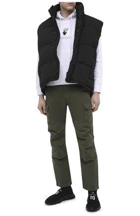 Мужские текстильные кроссовки speed BALENCIAGA черного цвета, арт. 645734/W2DBU | Фото 2