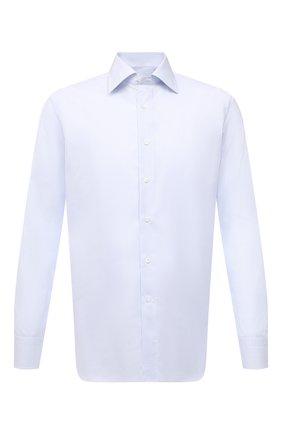 Мужская хлопковая сорочка CANALI голубого цвета, арт. N705/GR01578 | Фото 1