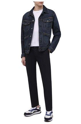 Мужские комбинированные кроссовки BOGNER черно-белого цвета, арт. 12120645/MICHIGAN 1 | Фото 2