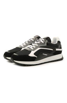 Мужские комбинированные кроссовки BOGNER черного цвета, арт. 12120645/MICHIGAN 1 | Фото 1