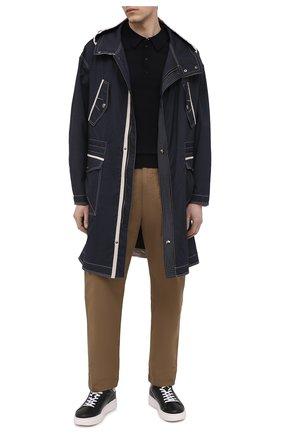 Мужские кожаные кеды BOGNER черного цвета, арт. 12120295/SARAJEV0 3 | Фото 2 (Материал внутренний: Натуральная кожа, Текстиль; Подошва: Массивная)
