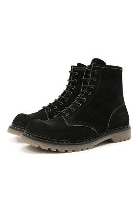 Мужские замшевые ботинки PREMIATA черного цвета, арт. 31543/N0NE | Фото 1