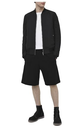 Мужские замшевые ботинки PREMIATA черного цвета, арт. 31543/N0NE | Фото 2