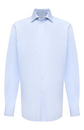 Мужская хлопковая сорочка ETON голубого цвета, арт. 1000 02237 | Фото 1