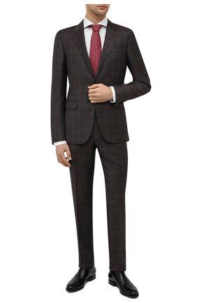 Мужские кожаные оксфорды W.GIBBS черного цвета, арт. 8378003/2437   Фото 2