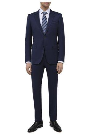 Мужские кожаные дерби W.GIBBS черного цвета, арт. 7255005/2102   Фото 2