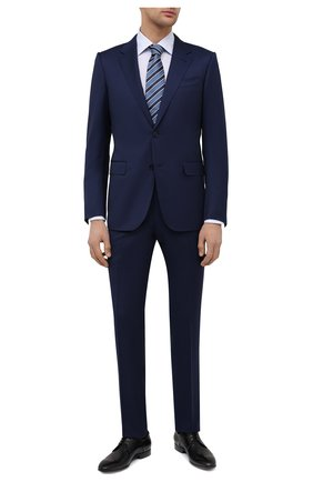 Мужские кожаные дерби W.GIBBS черного цвета, арт. 2339006/1640 | Фото 2 (Материал внутренний: Натуральная кожа; Стили: Классический)