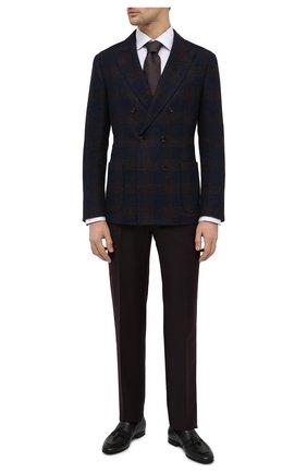 Мужские кожаные лоферы W.GIBBS черного цвета, арт. 0801018/1286   Фото 2 (Материал внутренний: Натуральная кожа; Мужское Кросс-КТ: Лоферы-обувь; Стили: Классический)