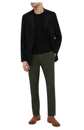 Мужские кожаные дерби MOMA коричневого цвета, арт. 2AS120-S0 | Фото 2 (Материал внутренний: Натуральная кожа; Стили: Классический)
