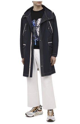 Мужской свитшот из вискозы BERLUTI черного цвета, арт. R19JRL53-001 | Фото 2