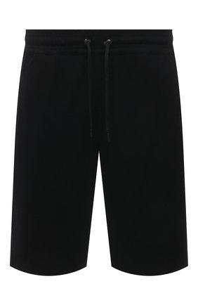 Мужские шорты из вискозы NEIL BARRETT черного цвета, арт. PBPA768K/Q002 | Фото 1