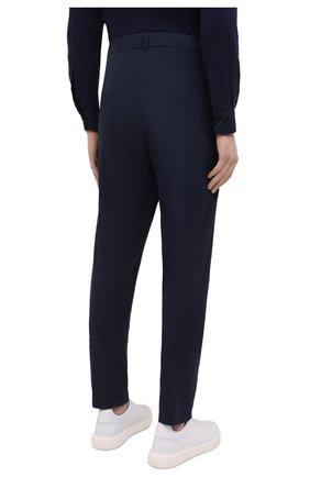 Мужские хлопковые брюки ASPESI темно-синего цвета, арт. S1 A CP32 G436 | Фото 4 (Длина (брюки, джинсы): Стандартные; Случай: Повседневный; Материал внешний: Хлопок; Стили: Кэжуэл)