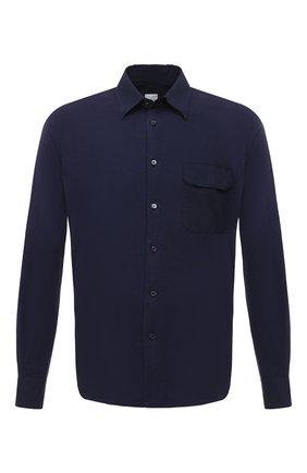 Мужская хлопковая рубашка ASPESI темно-синего цвета, арт. S1 A AY46 9408 | Фото 1