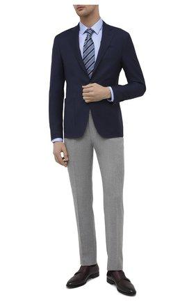 Мужские кожаные монки DOUCAL'S бордового цвета, арт. DU1048KAVIUF190TL01 | Фото 2