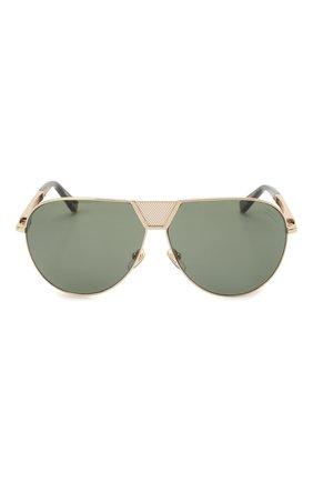 Мужские солнцезащитные очки ZILLI золотого цвета, арт. MIP-65045-LUNET/0001 | Фото 3