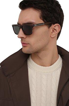 Мужские солнцезащитные очки ZILLI коричневого цвета, арт. MIP-65010-00ACE/0001 | Фото 2