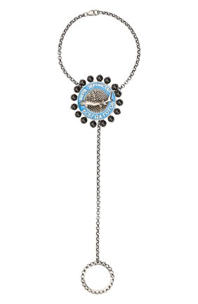Женский браслет soviet DZHANELLI серебряного цвета, арт. 391/0217 | Фото 1