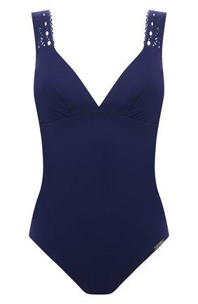 Женский слитный купальник LISE CHARMEL синего цвета, арт. ABA6915 | Фото 1