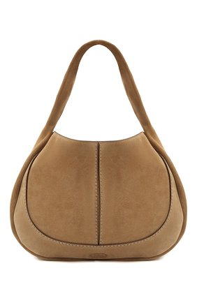 Женская сумка aou TOD'S бежевого цвета, арт. XBWA0US0300P3A   Фото 1