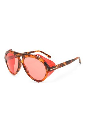 Женские солнцезащитные очки TOM FORD красного цвета, арт. TF882 | Фото 1