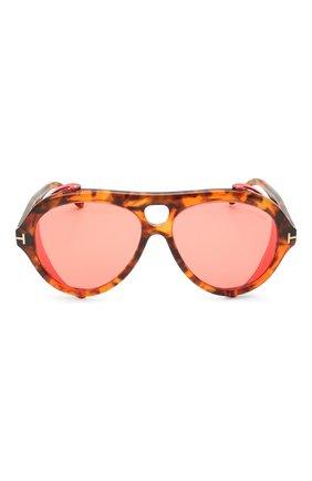 Женские солнцезащитные очки TOM FORD красного цвета, арт. TF882 | Фото 3