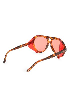 Женские солнцезащитные очки TOM FORD красного цвета, арт. TF882 | Фото 4
